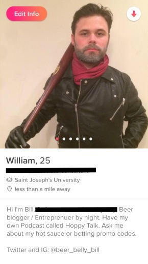 My Dating App Bios are QuiteRediculous